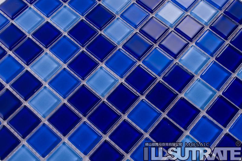 泳池马赛克-深蓝色系 - 泳池马赛克|玻璃马赛克|瓷砖