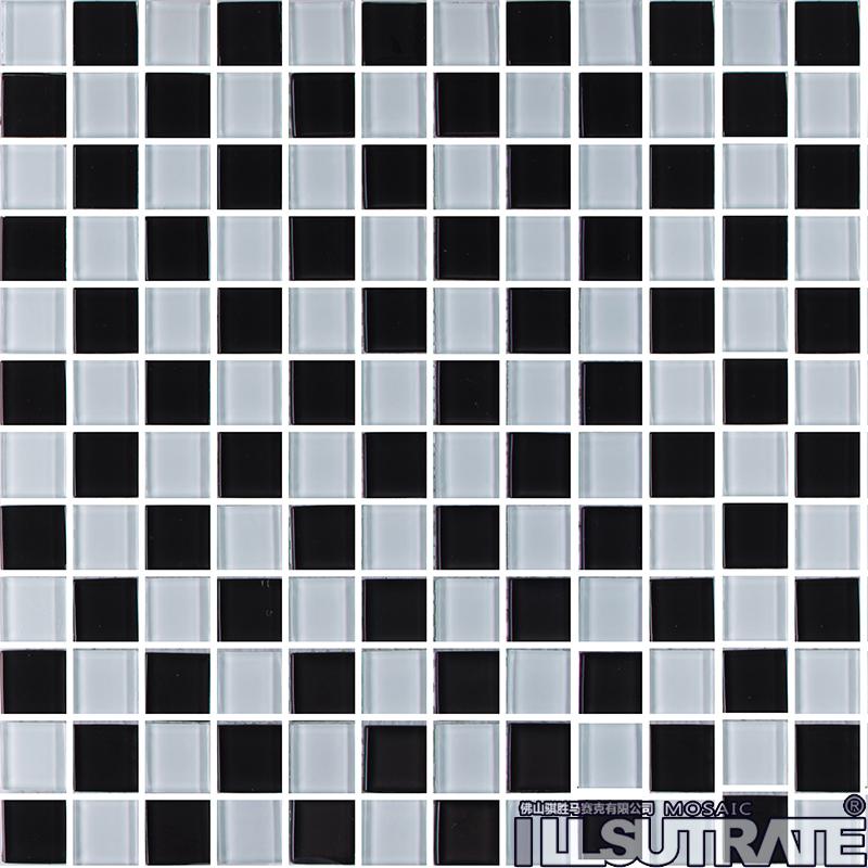黑白砖贴图素材